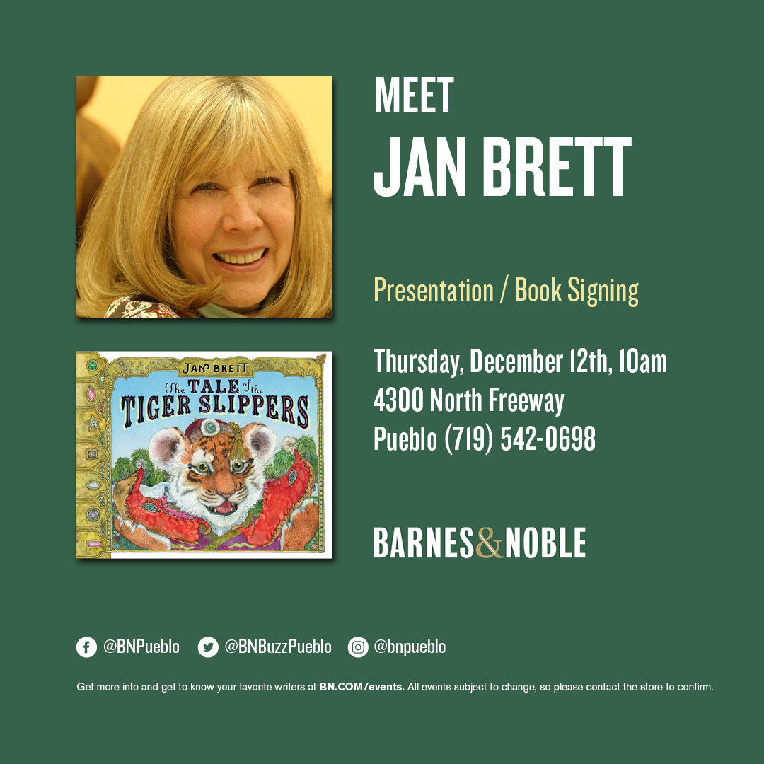 Jan-Brett-The-Tale-of-the-Tiger-Slippers-Author-Barnes-and-Noble-Meet-and-Greet